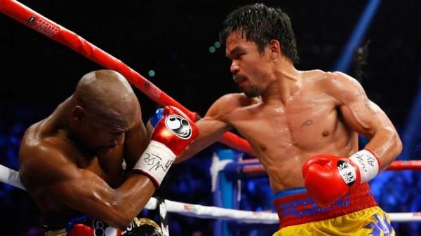 Pacquiao hits Mayweather