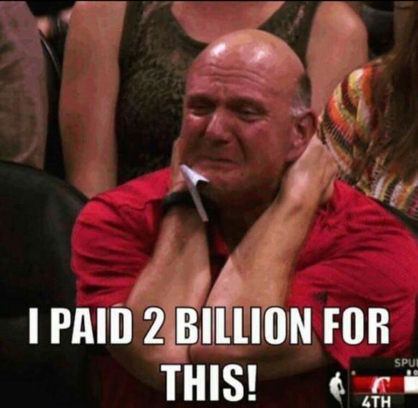 Paid 2 billion for this