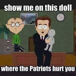 Patriots hurt us