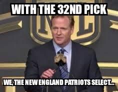 Patriots joke