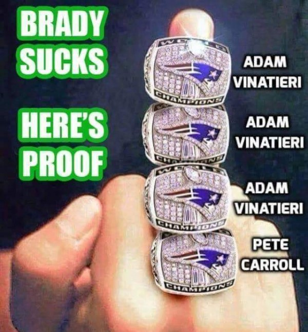 Proof Brady sucks