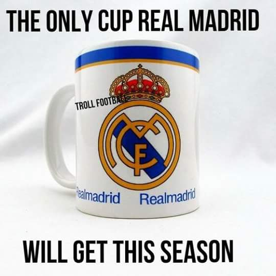 Real Madrid's only cup