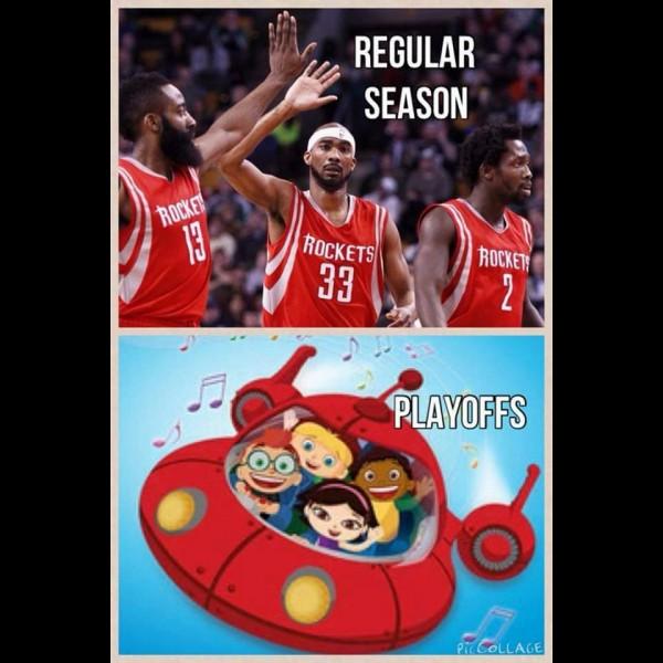 Regular season vs playoffs 2