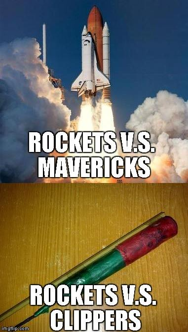 Rockets and different vs