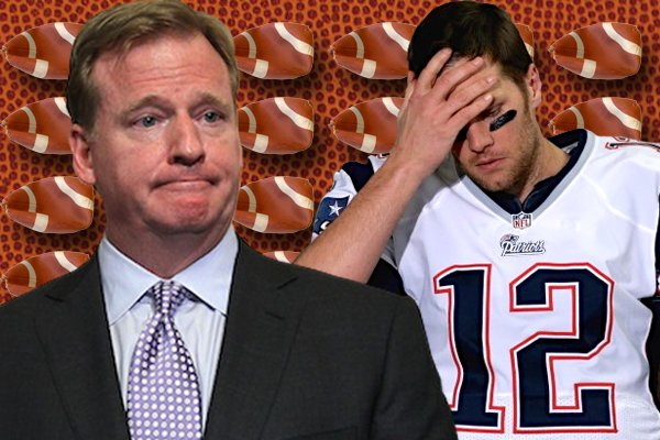 Roger Goodell, Tom Brady
