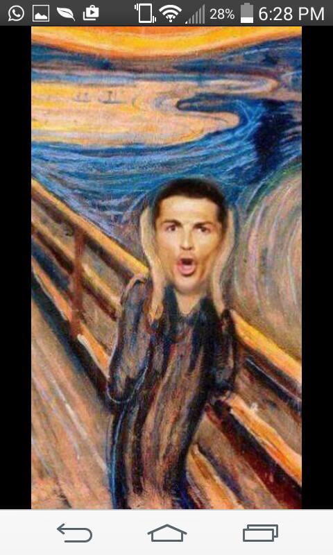 Ronaldo Shouting