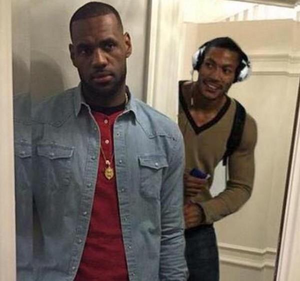 Rose & LeBron