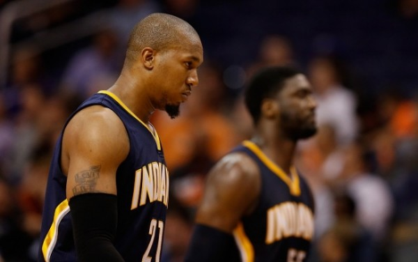 Probably one more year starting in the Indiana Pacers frontcourt for Hibbert and West