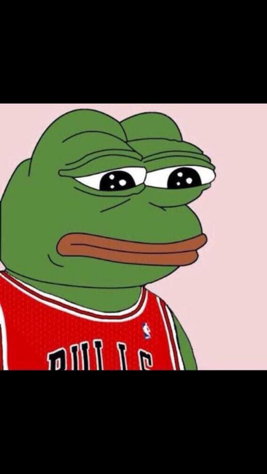 Sad Bulls frog