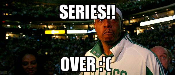 Series over