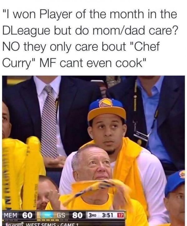 Seth Curry meme