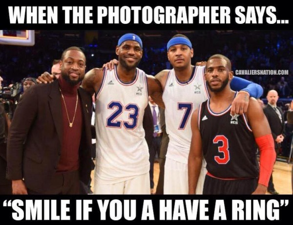 Smile if you have a ring