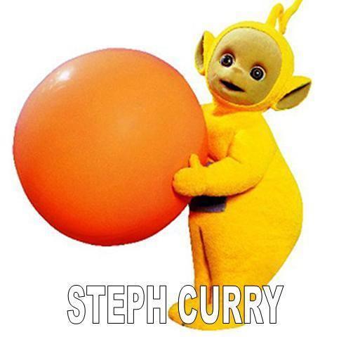 Steph Curry Telletubby