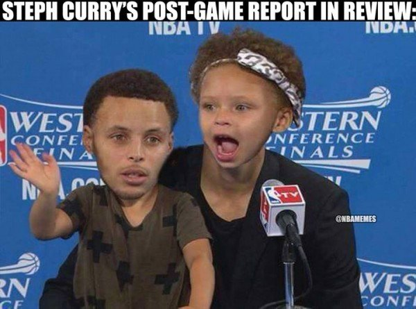 Stephen Curry & Daughter