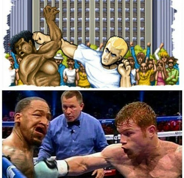Street Fighter knockout