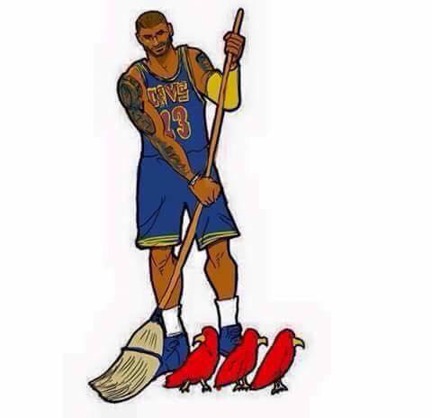 Sweeping the Hawks