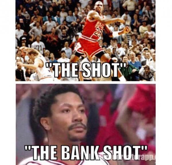 The shot vs the Bank Shot