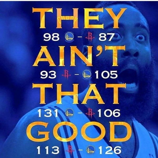 They ain't that good