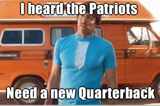 They need a new quarterback