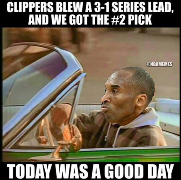 Today was a good day Kobe