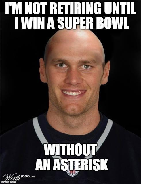 Tom Brady cheating meme