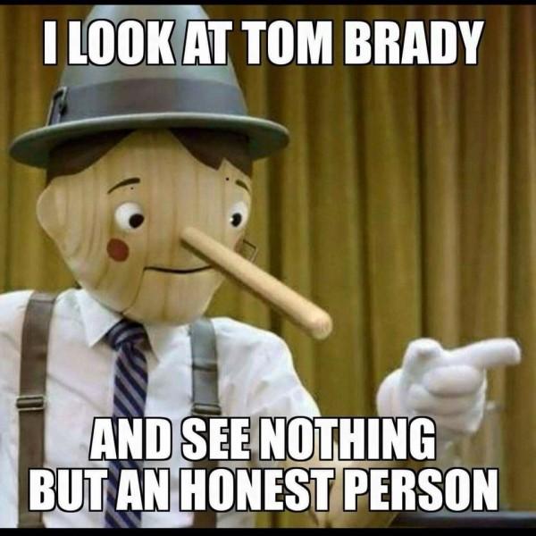 Tom Brady honest