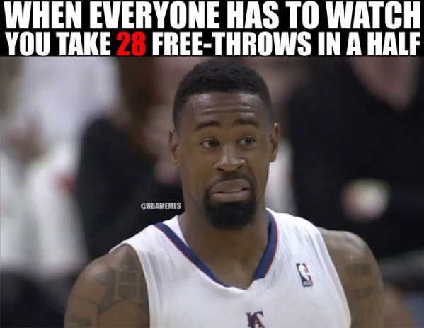 Too many free throws