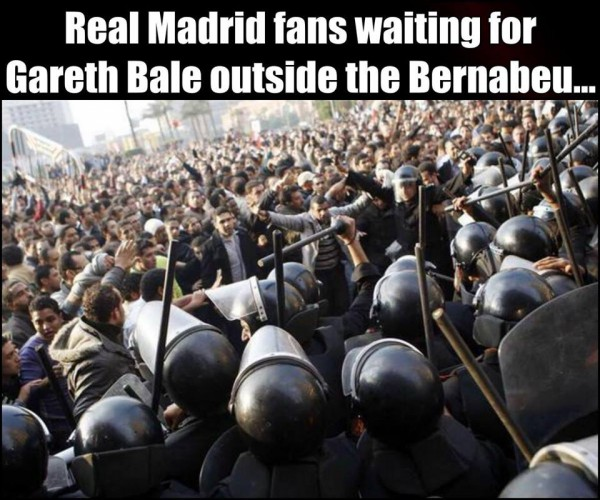 Waiting for Gareth Bale