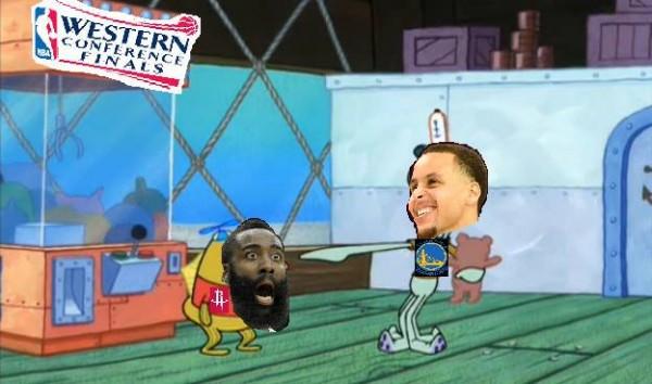 Warriors Rockets meme