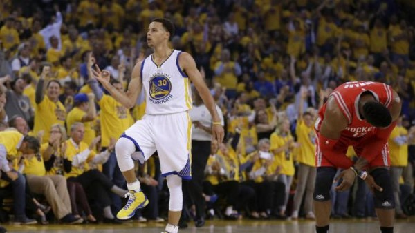Warriors beat Rockets