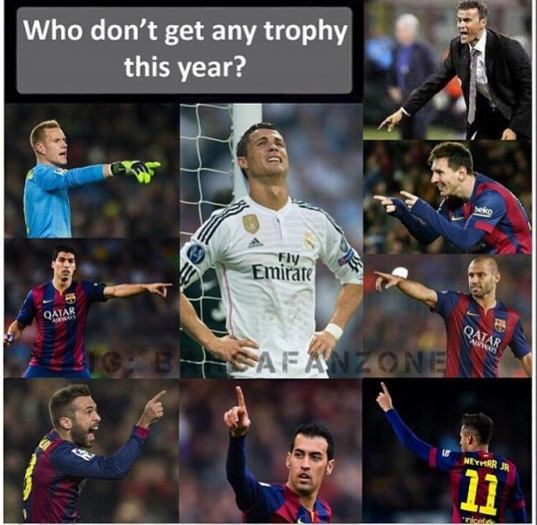 Who doesn't get a trophy this year