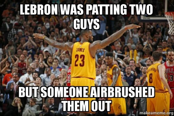 lebron-was-patting