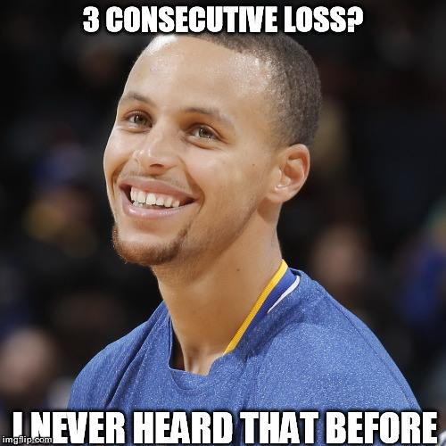 3 Consecutive losses meme