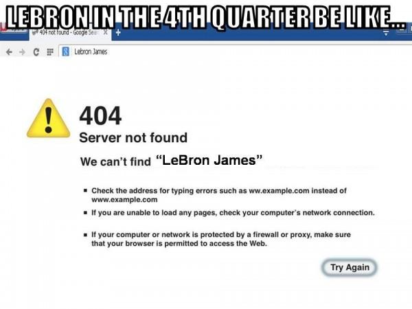 4th quarter LeBron
