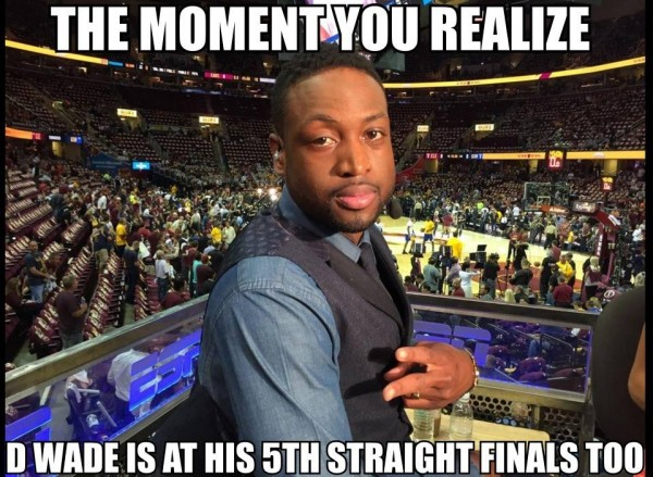 5th straight for D Wade