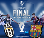 Barcelona Juventus UCL Final Infographic