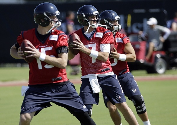 Brian Hoyer, Ryan Mallett, Tom Savage