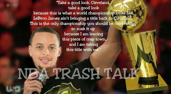 Curry trash talk