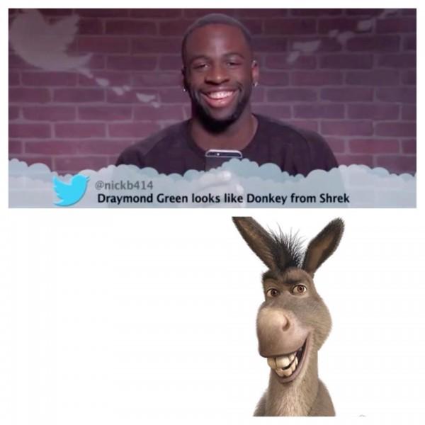 D Green Donkey from Shrek