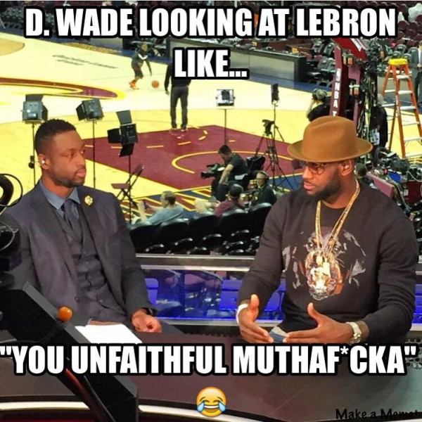D-Wade and LeBron