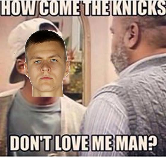How come the Knicks don't love me
