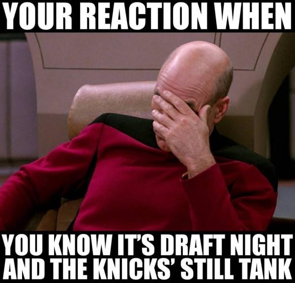 Knicks reaction