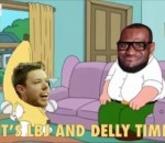LBJ and Delly time