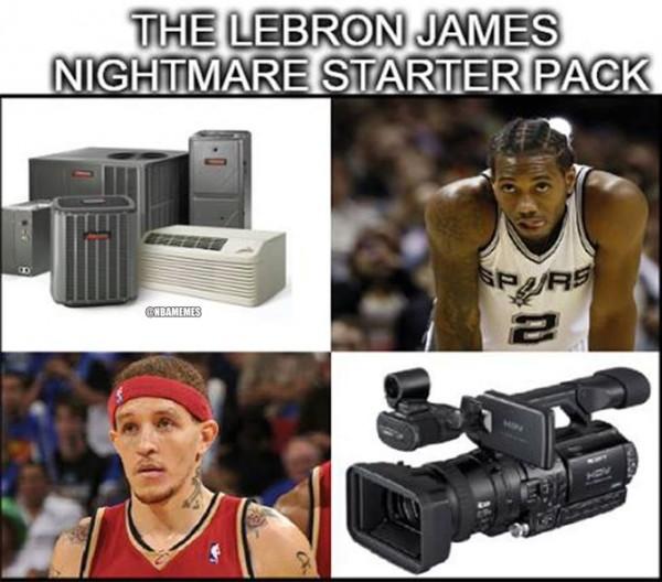 LeBron James starters