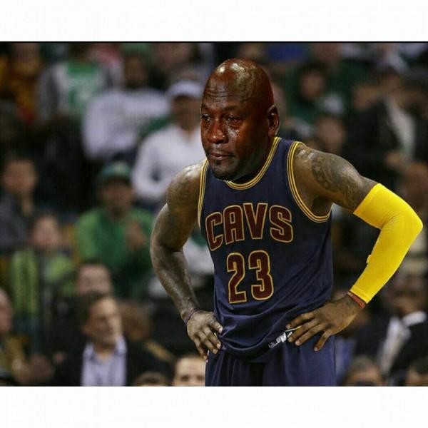 LeBron-Jordan crying