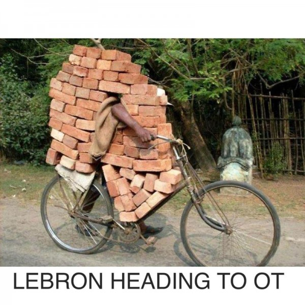 LeBron heading to Overtime