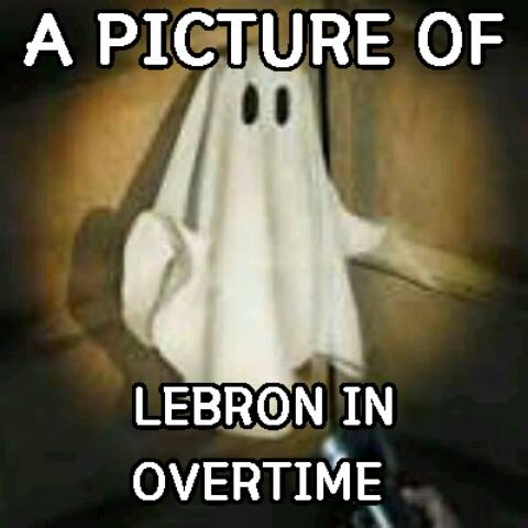 LeBron in overtime
