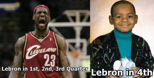 LeBron in the 4th