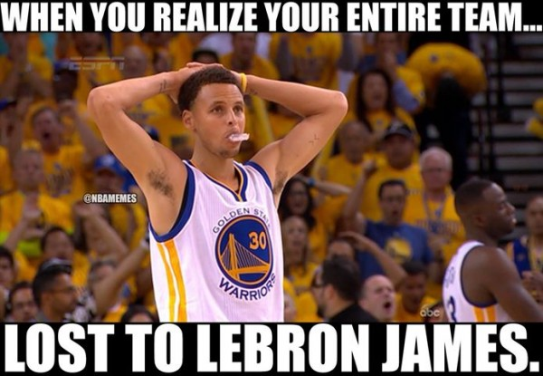 Lost to LeBron