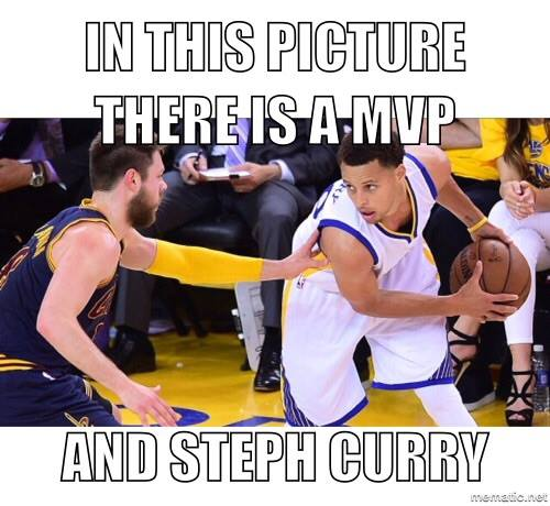 MVP with Curry